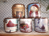 Holiday Candles Winter