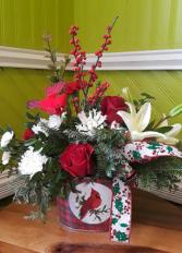 Holiday Cardinal Christmas