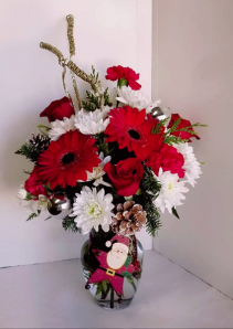 Holiday Celebration Fresh Holiday Vase