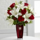 Holiday Celebrations Bouquet Vase Arrangement