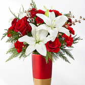 Holiday Celebrations Bouquet Holiday Floral Arrangement