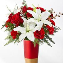 Holiday Celebrations Bouquet Holiday Floral Arrangement