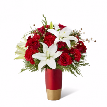 Holiday Celebrations Bouquet holiday vase arrangement