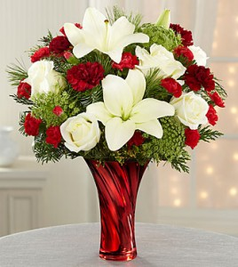 Holiday Celebrations  Mixed Florals