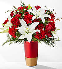 Holiday Celebrations Vase