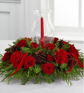 Holiday Centerpiece - SPECIAL FREE SHIPPING IN BARRIE in Barrie, ON | FLOWERS AND PINEWORLD