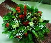 Holiday Centerpiece Candle Centerpiece