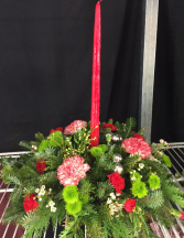Holiday Centerpiece Handmade In Our Shop!