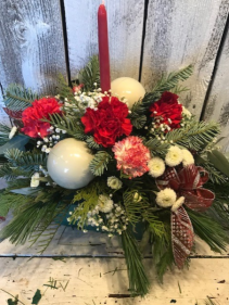 holiday centerpiece seasonal mix