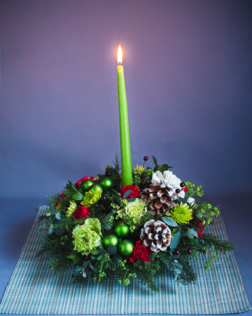 Holiday Charm  Centerpiece
