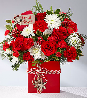 Holiday Cheer Arrangement in Cherokee, IA | Blooming House