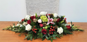 Holiday Cheer Arrangement in Boca Raton, FL | FLOWERS OF BOCA