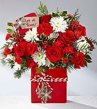 Holiday Cheer Bouquet Christmas Arrangement