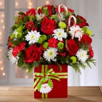 Holiday Cheer Bouquet holiday