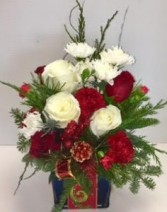 Holiday Cheer Fresh Beautiful Arrangement