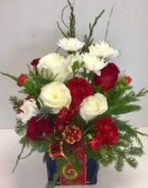 Holiday Cheer Fresh Beautiful Arrangement in Reno, NV | Flower Bell