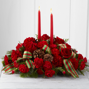 HOLIDAY CLASSIC CENTERPIECE  in Clarksville, TN | FLOWERS BY TARA AND JEWELRY WORLD