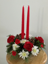 Holiday Classic Low centerpiece