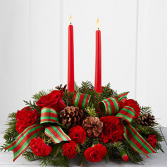 Holiday Classics Centerpiece Holiday Floral Arrangement