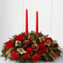Holiday Classics Centerpiece Holiday Floral Arrangement