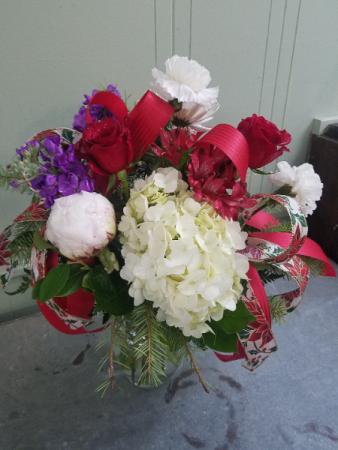 Holiday Delight Vase Arrangement