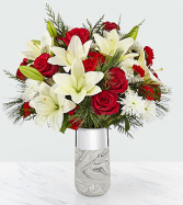 Holiday Elegance Bouquet holiday