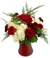 Holiday Elegance Bud & Bloom Signature Arrangement
