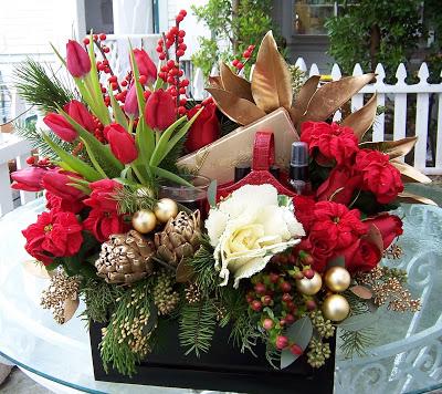 Holiday Elegance  Gift Arrangement