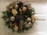 3-Candle Cranberry Christmas Silk Centerpiece