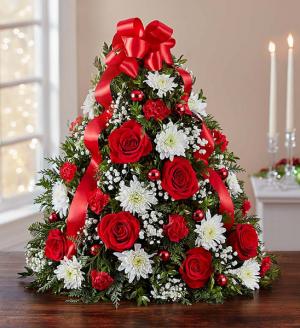 Holiday Flower Tree  in Sunrise, FL | FLORIST24HRS.COM
