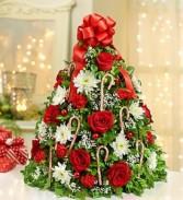Roma Florist Holiday Flower Tree