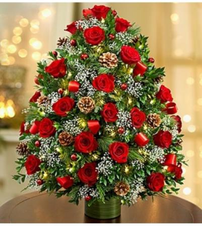 Holiday Flower Tree® Luxury Arrangement