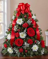 Holiday Flower Tree by 1800Flowers