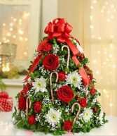 Holiday Flower Tree Christmas