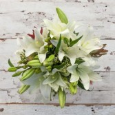 Holiday Fun Bouquet European Hand Tied Cut Bouquet (no vase)