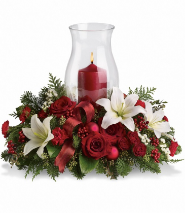 Holiday Glow Centerpiece T115-3B