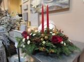 Holiday Glow Custom Fitzgerald Flowers Arrangement