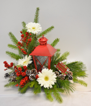 Holiday Glow Fresh Arrangement in Holland, MI | GLENDA'S LAKEWOOD FLOWERS