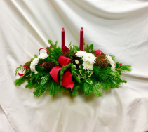 Holiday Glow Fresh Floral Design