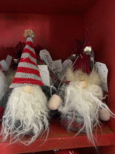Holiday Gnome Ornaments