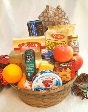 Holiday Goodies Basket Enough to Share! in Gainesville, FL   PRANGE'S FLORIST