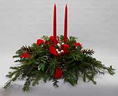 Holiday Greens Centerpiece
