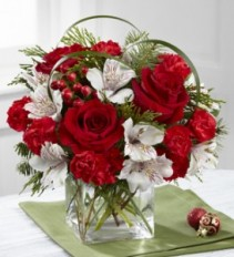 Holiday Hopes Bouquet FTD  B14-4965S