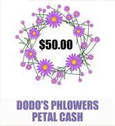 $50 Petal Cash Gift Card towards Future order
