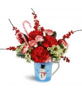 Holiday Hug in a Mug™ Arrangement