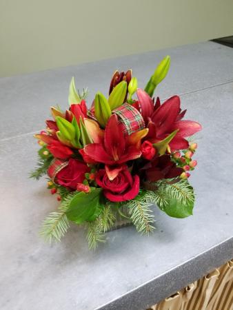 Holiday Joy Vase Arrangement