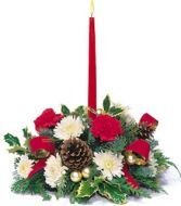 HOLIDAY LAMP LIGHTER CENTERPIECE