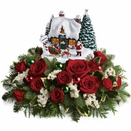 Holiday Lights Arrangement in Croton On Hudson, NY | Cooke's Little Shoppe Of Flowers