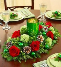Holiday Lights Centerpiece