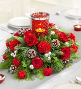 Holiday Lights Centerpiece Christmas